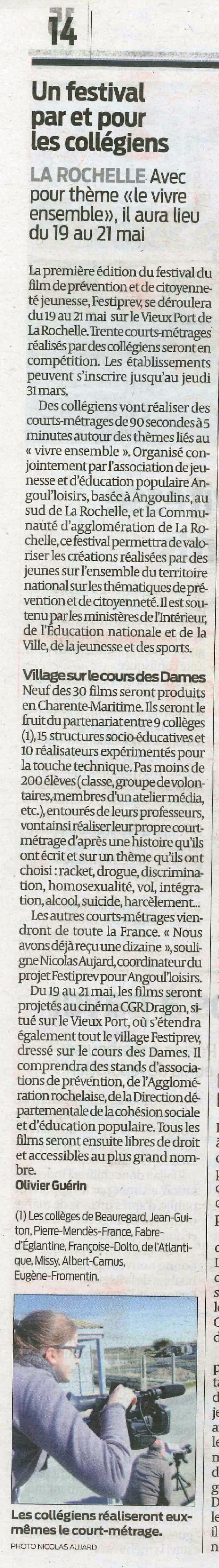 Sud Ouest 25 3 2016